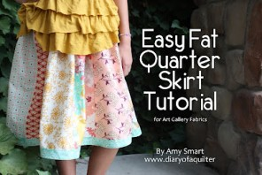easy fat quarter tutorial