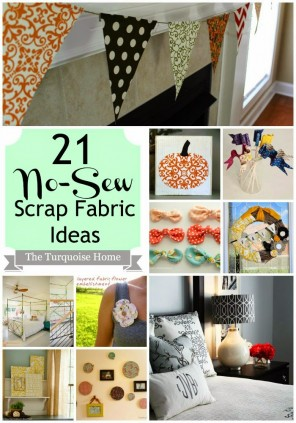 21 no sew scrap fabric ideas