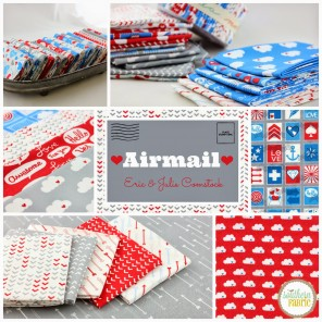 airmail collage