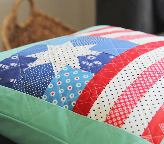 Flag-pillow