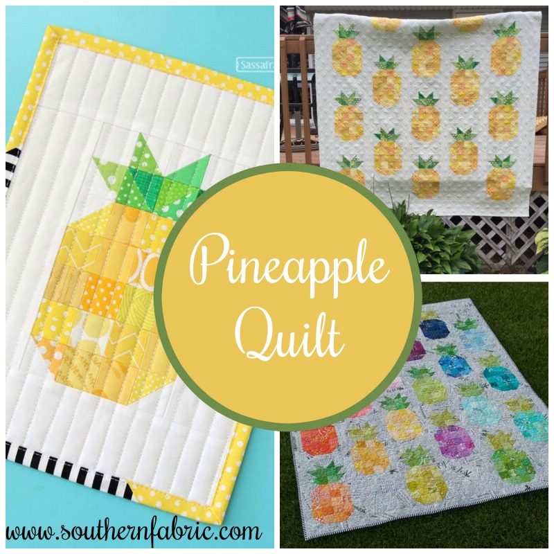 Pineapple Quilt   Southern FabricSouthern Fabric : free pineapple quilt pattern - Adamdwight.com