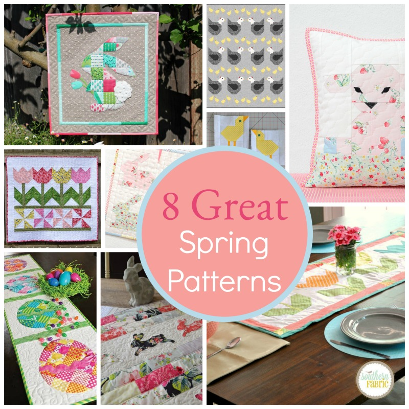 8 Great Easter Quilts And Patterns Southern Fabricsouthern Fabric